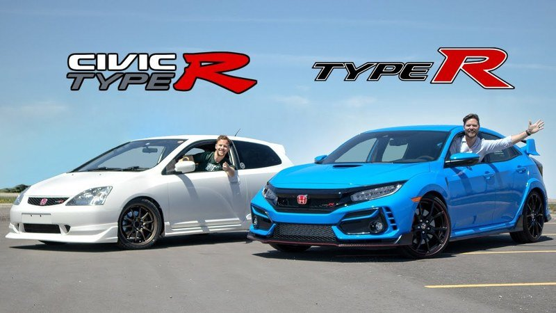 Splitting the Difference: 2003 Honda Civic Type R vs. 2020 Honda Civic Type R
