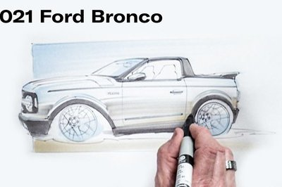 The 2021 Ford Bronco as a Street Rod? Chip Foose Thought of It