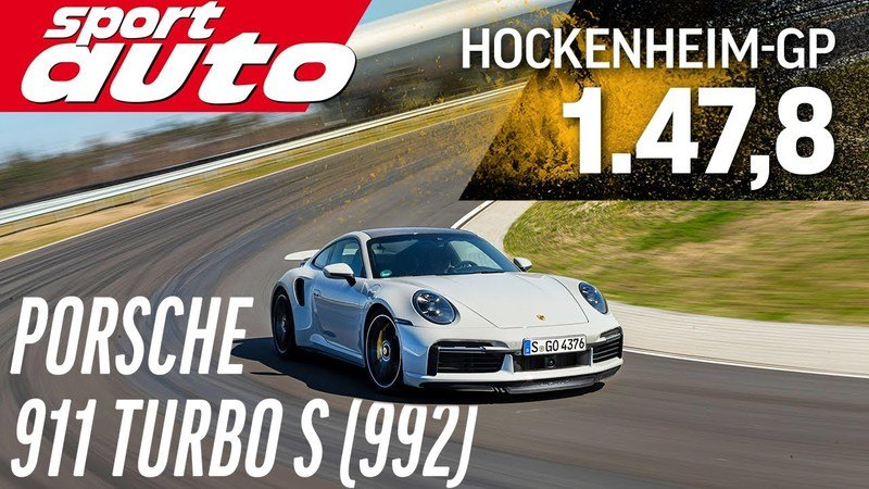 The Porsche 911 Turbo S (992) Just Out-Tracked the Mercedes-AMG GT R Pro and Porsche 918 Spyder!