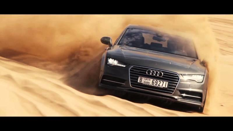 Audi A7 Sportback Takes On The Dunes In Dubai: Video