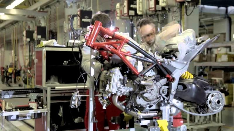 Video: Ducati Gives Us A Peak On How A Multistrada 1200 Is Built