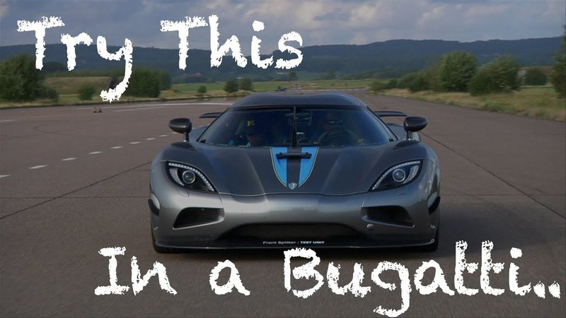 Koenigsegg's Electronic Stability Control Can Protect Even the Dumbest Drivers