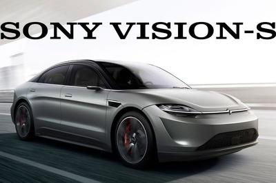 2020 Sony Vision-S Concept