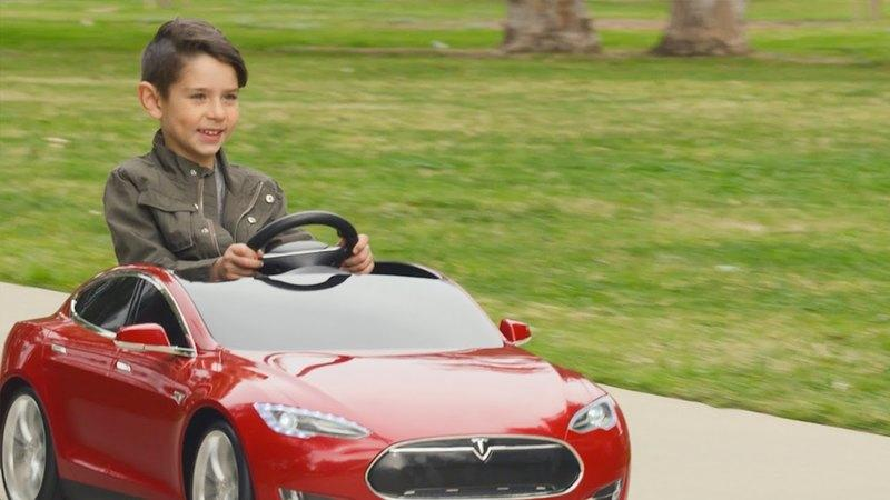 Tesla Model S Now Available For Children: Video