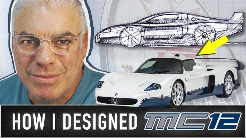 Now you Can See How Frank Stephenson Designed the Maserati MC12