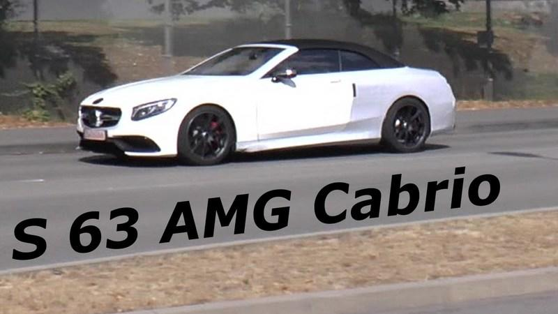2017 Mercedes S63 4MATIC Cabriolet