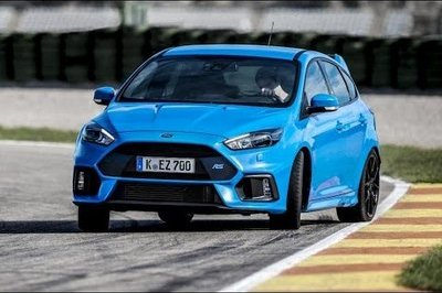 A Quick Look At The 2016 Ford Focus RS's