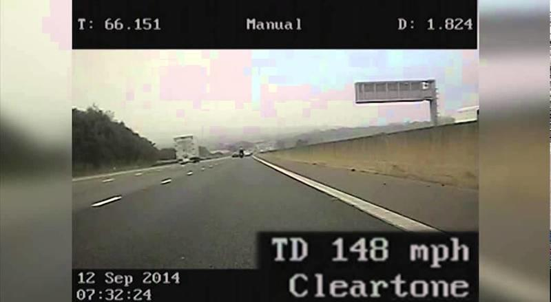 Video: UK Rider Clocked Doing 148 MPH By Police, Gets Cited For Dangerous Driving
