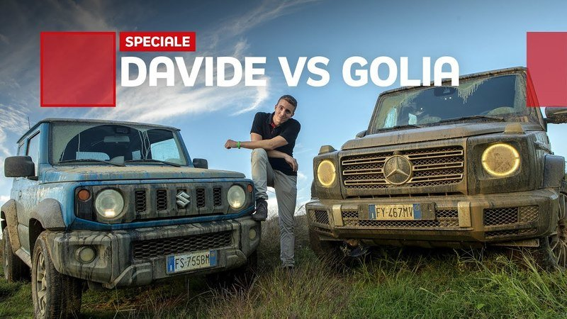 The Suzuki Jimny Squares Off With the Mercedes G-Class in an Epic Off-Road Challenge