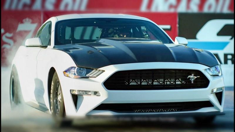 All-Electric Mustang Cobra Jet 1400 Is Ford's New Silent Rubber-Burning Monster