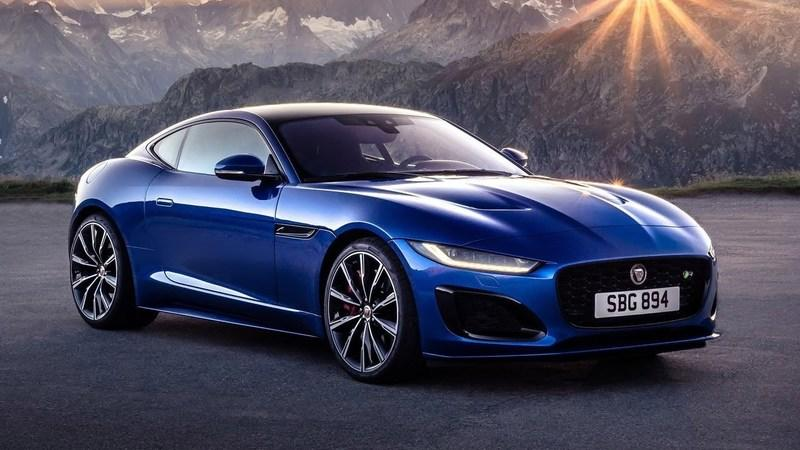 2021 Jaguar F-Type Coupe(updated)