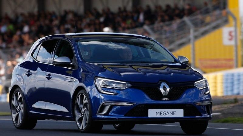 Renault Megane GT Makes Track Debut at Le Mans: Video