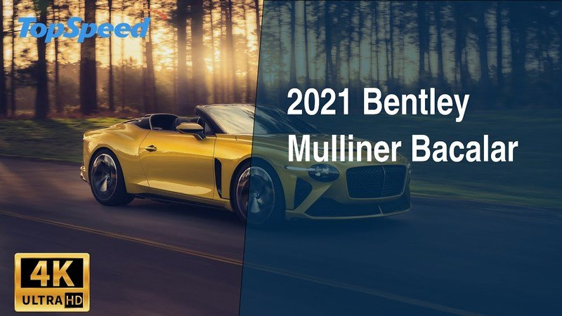 2021 Bentley Mulliner Bacalar