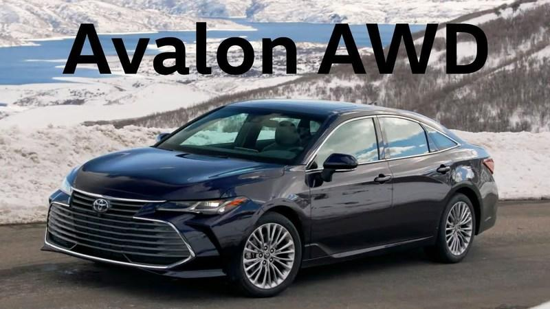 The Toyota Avalon and Camry Are Now AWD, But I'm More Interested in the Pictures