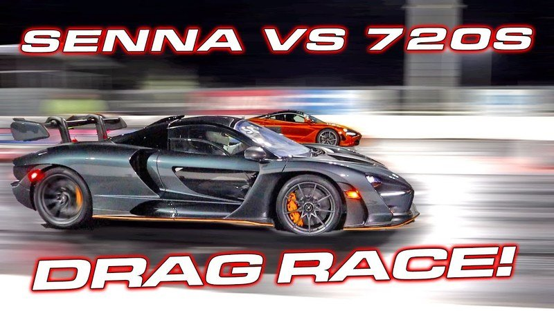 Why Wouldn't You Watch This Showdown Between the McLaren Senna and 720S?