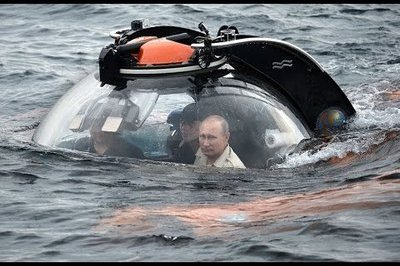 Video: Vladimir Putin Takes Deep Sea Dive Aboard A C-Explorer 3