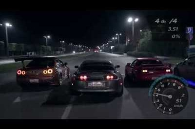 The Best Video You'll See All Week: Need for Speed in Real Life