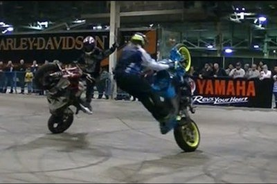 Video: Check Out Some Stunts From the 2015 Toronto Motorcycle Show