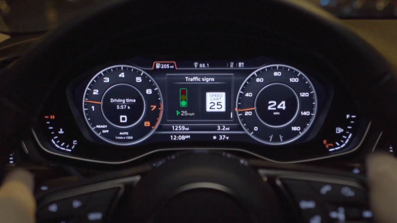 Audi Traffic Light Information System Will Tell you How Fast to Go to Catch a Green Light