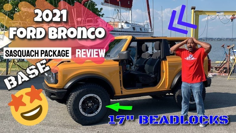 New Run-Down Showcases How Easy the Ford Bronco's Doors and Roof Can Be Installed