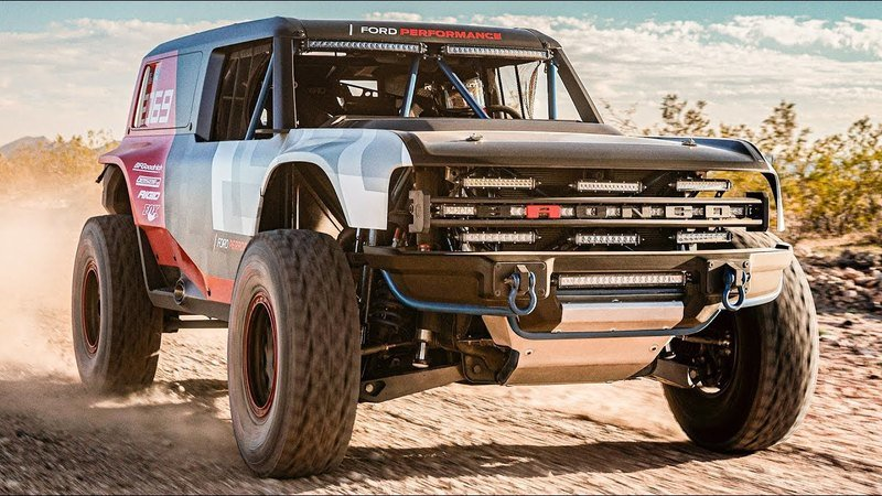 2020 Ford Bronco R Race Prototype