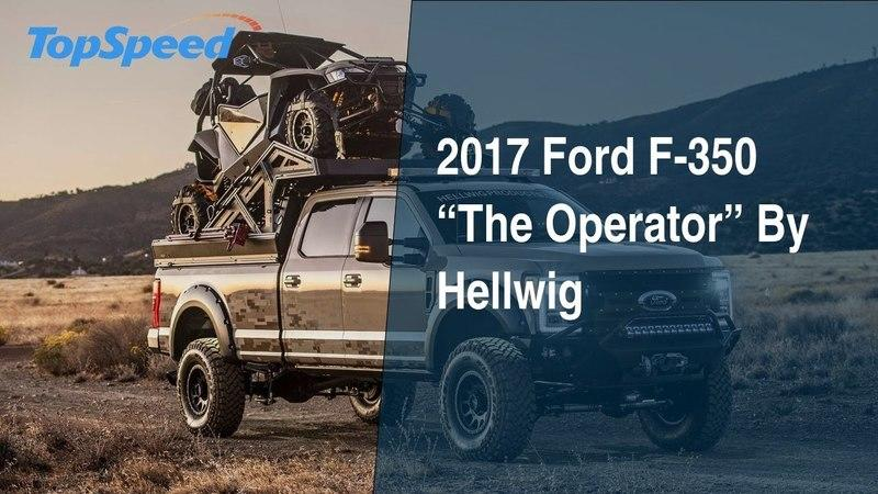 "2017 Ford F-350 ""The Operator"" By Hellwig"