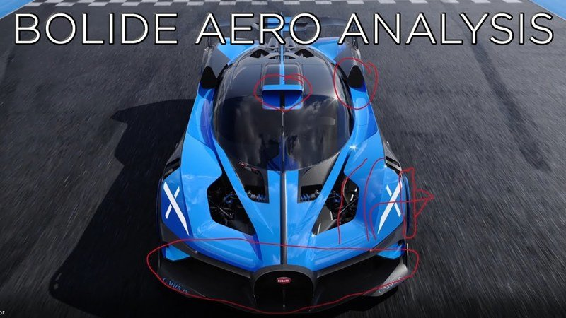 This In-Depth Analysis of the Bugatti Bolide's Aerodynamics Will Enlighten You