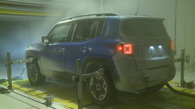 FCA Prepares New 4x4 Dyno For Rain And Snow Testing