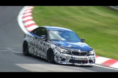 BMW M2 Caught Testing At Nurburgring: Video