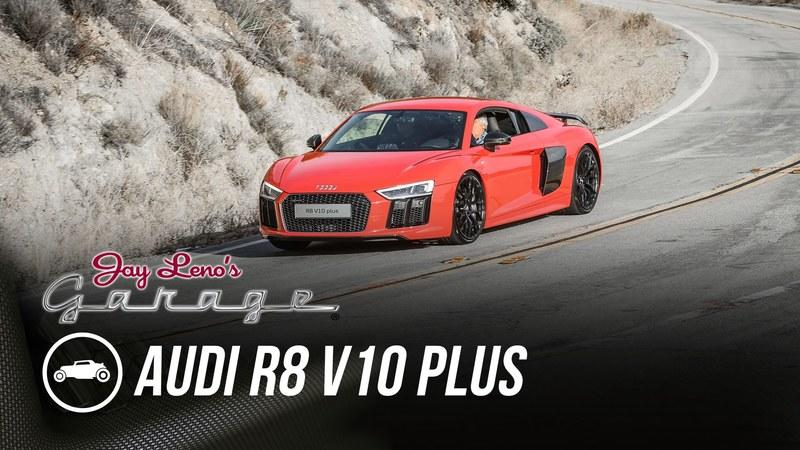 Audi R8 V10 Plus Drops By Jay Leno's Garage: Video