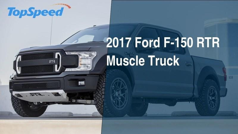2017 Ford F-150 RTR Muscle Truck