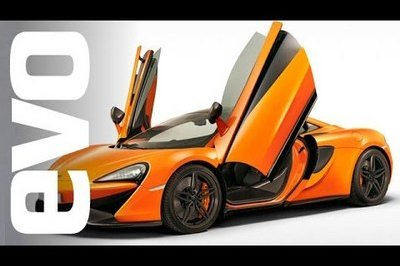A Closer Look At The McLaren 570S With EVO: Video