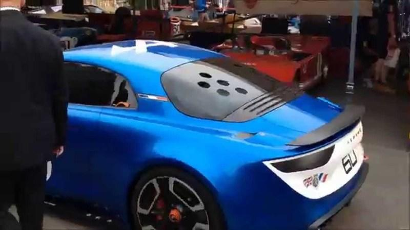 Renault Alpine At Goodwood Festival Of Speed: Video
