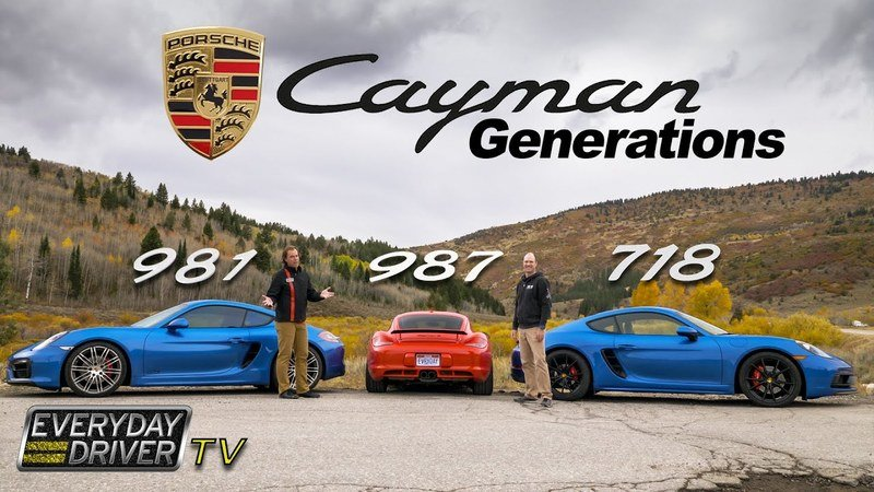This New Video Shows How the Porsche Cayman Has Evolved Over the Years