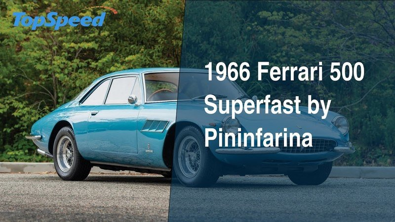 1966 Ferrari 500 Superfast by Pininfarina