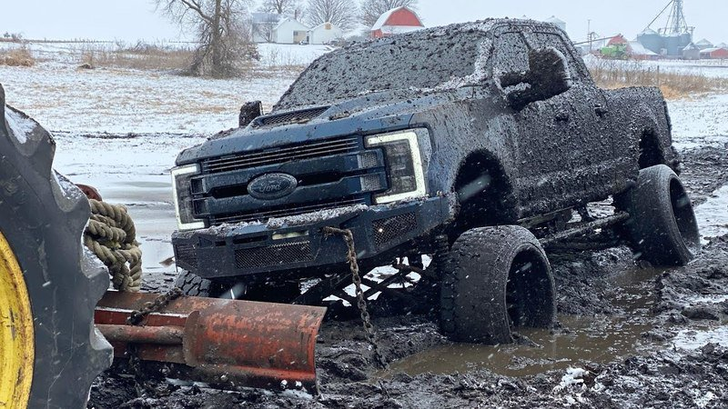 Video: Would You Treat Your $100,000 Ford F-350 Like This?
