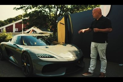 Christian von Koenigsegg Demonstrates That Supercars Can Be Practical, Too