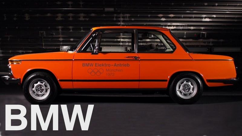 BMW Showcases Its First Electric Car - The 1972 1602e: Video