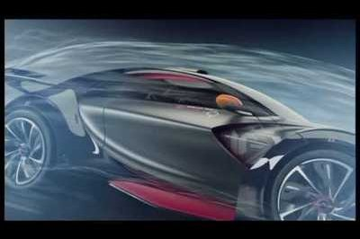 Citroen releases promo video of Survolt concept