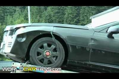 Video: 2012 Mercedes SLK spied testing