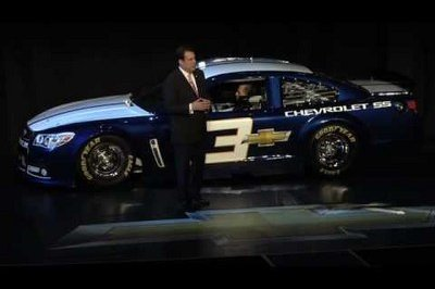 Production Version Chevrolet SS Teased at SS NASCAR Debut