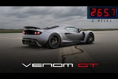 Video: Hennessey Venom GT Breaks Top Speed Record