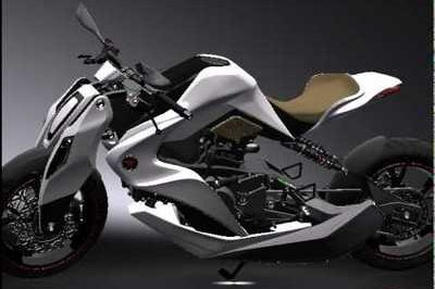 2012 Izh Hybrid motorcycle concept by Igor Chak [w/video]