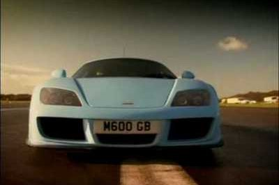 Video: Top Gear tests out the Noble M600