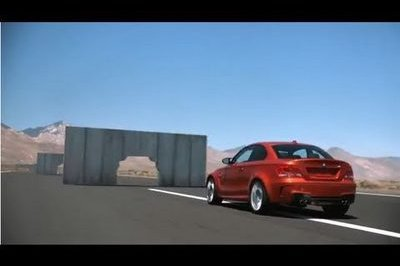 Video: BMW 1-Series M Coupe vs. Walls
