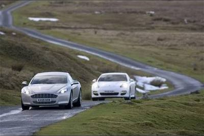 Video: Aston Martin Rapide and Porsche Panamera compare speed times