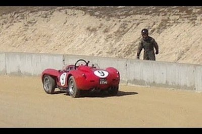 Video: Ferrari 250 TR crashes at Laguna Seca