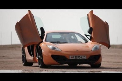 Video: Drive Takes Four McLaren MP4-12Cs to Saudi Arabia