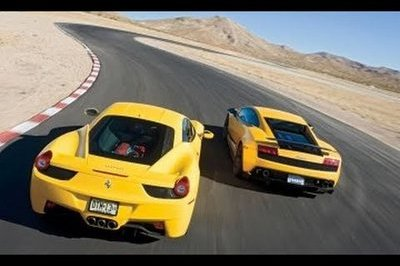 Video: Ferrari 458 Italia Versus Lamborghini Gallardo Superleggera
