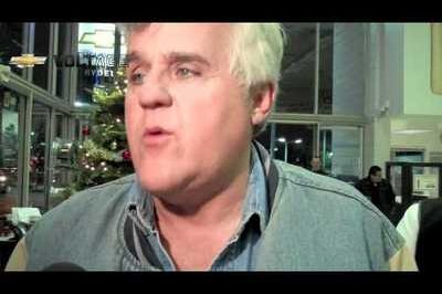 Video: Jay Leno receives his Chevrolet Volt